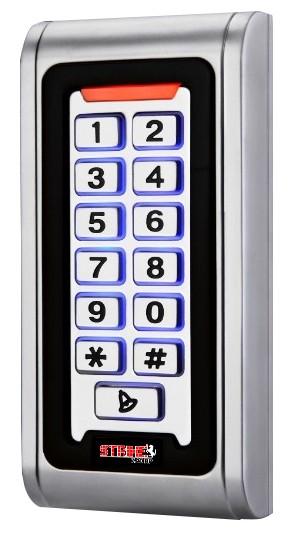 kartlı ve şifreli kapı açma